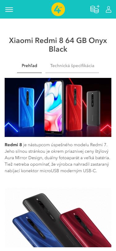 Xiaomi Redmi 8 64 GB Onyx Black (2)